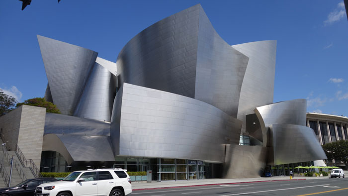 Frank Gehry, Disney Concert Hall. Los Angeles.